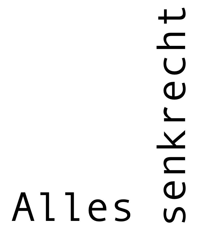Alles senkrecht logo